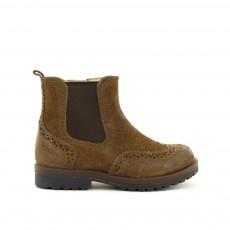 Boots Elastique Worky Marron