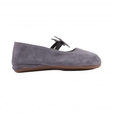 Chaussons Ballerines Etoile Gris