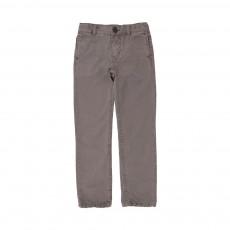 Pantalon Chino Julian Vert kaki