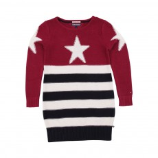 Robe USA Stars and Stripes Rouge