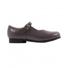 Babies Cuir Clare Gris