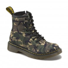 Boots Zippées Camouflage Core Delaney Vert kaki