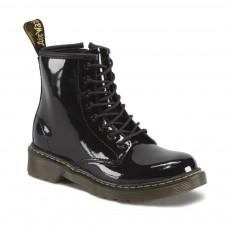 Boots Zippées Vernis Core Delaney Noir