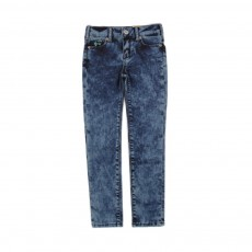 Jean Slim Tie&Dye Denim stonewashed