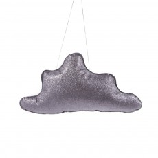 Mobile Nuage paillette Gris anthracite