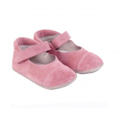 Ballerine velcro scamosciate rosa chiaro outlet for Tessuti arredamento outlet torino