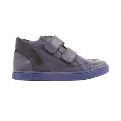 Sneakers Imbottite Strap Choflip Blu