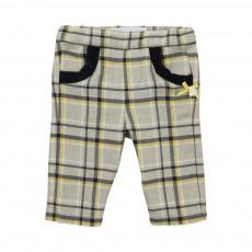 Pantalon Carreaux La Petite Parisienne Gris clair