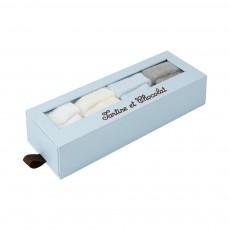 Kit Chaussettes Trousseau Bleu