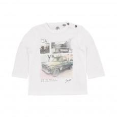 T-shirt  Voitures Blanc