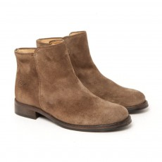 Bottines Suede Taupe