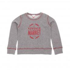 Sweat Vintage Market Gris foncé
