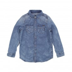 Chemise Jean Denim bleached