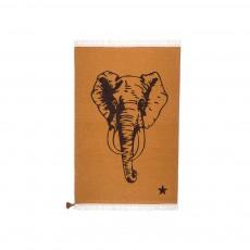Tapis en laine Gypsy Elephant - Marron Fauve