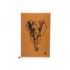 Tapis Gypsy Elephant - Marron Fauve