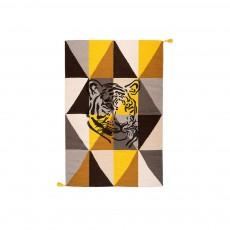 Tapis Circus Arlequin Tigre - Marron fauve