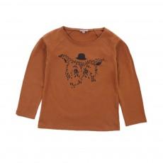 T-shirt Chouette Caramel