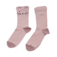 Chaussettes Chats Rose