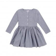 Robe Agatha Osaka Bleu chiné