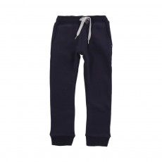 Jogger Slim Fleece Bleu marine