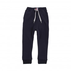 Jogger Loose Fleece Bleu marine