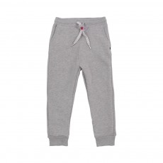 Jogger Loose Fleece Gris