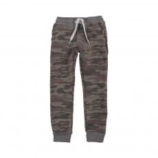 Jogger Slim camouflage Vert kaki