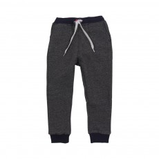 Jogger Loose Two tones Noir