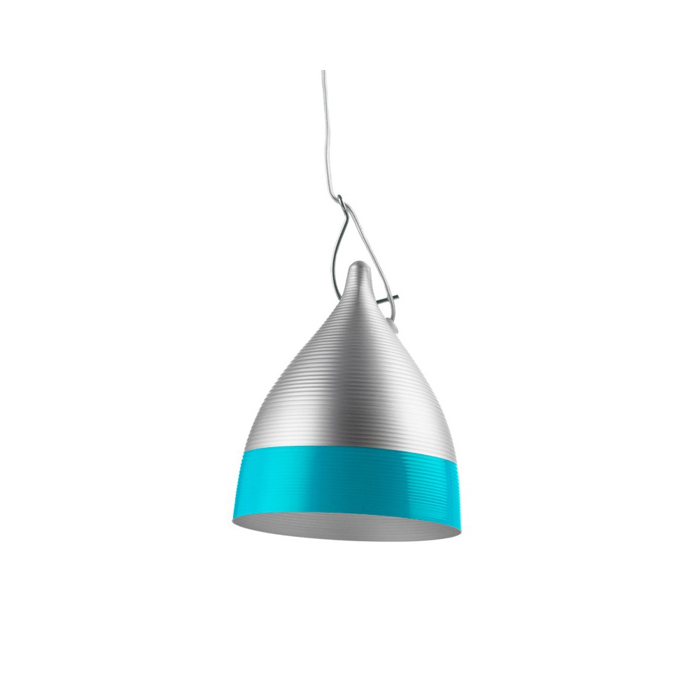 Suspension turquoise for Suspension bleu
