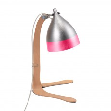 Lampe cornette à poser - Rose