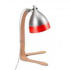 Lampe cornette à poser - Rouge