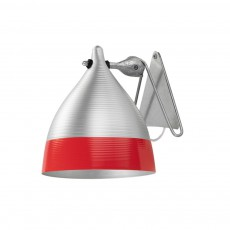 Applique lampe Cornette - Rouge
