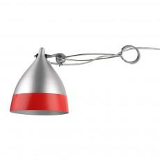 Lampe Cornette à pincer - Rouge