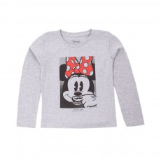 T-shirt Minnie Gris chiné