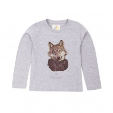 T-shirt Dark Wolf Gris chiné