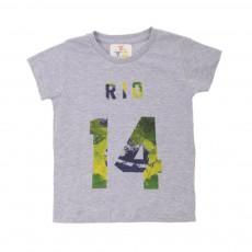 T-shirt Rio Gris chiné