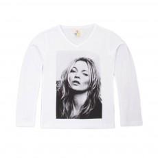 T-shirt K Moss Blanc