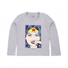 T-shirt Wonder Gris chiné