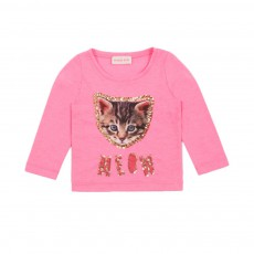 T-shirt Chat Meow Rose