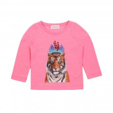 T-shirt Tigre Indian Rose