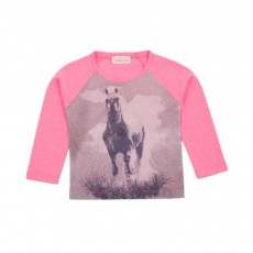 T-shirt Cheval Rose