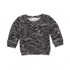 Sweat Zebra Gris chiné