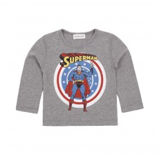 T-shirt Superman Gris chiné