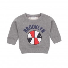Sweat Brooklyn Gris chiné