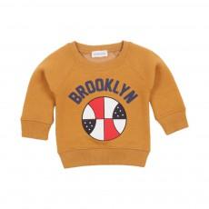 Sweat Brooklyn Jaune moutarde