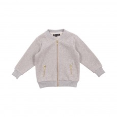 Veste Sweat Gaby Gris clair