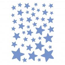 Stickers - Planche d'étoiles Bleu
