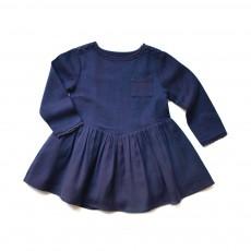 Robe Zoya Bleu marine