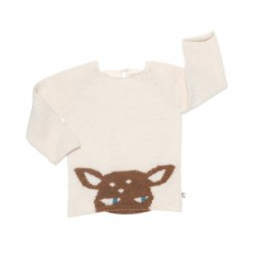 Pull Bambi Ivoire