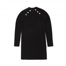 Robe Pull Maud Noir
